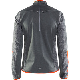 Craft M's Intensity Softshell Jacket Dark Grey Melange